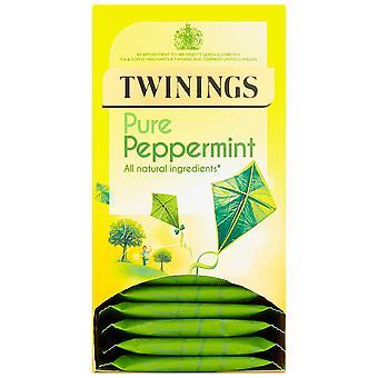 Twinings Pfefferminz umhüllt Teebeutel