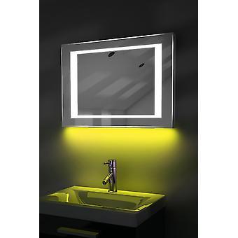 Ambient Shaver LED Bathroom Mirror With Demister, Shaver & Sensor k48i