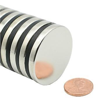 Neodymowy magnes 40 x 5 mm podkładka N35 - 50 sztuk
