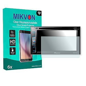 Pioneer AVH-X3700DAB Screen Protector - Mikvon Clear (Retail Package with accessories)