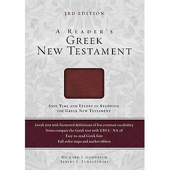 Reader's greckiego Nowego Testamentu (wydanie specjalne 3) przez Richard J. Go