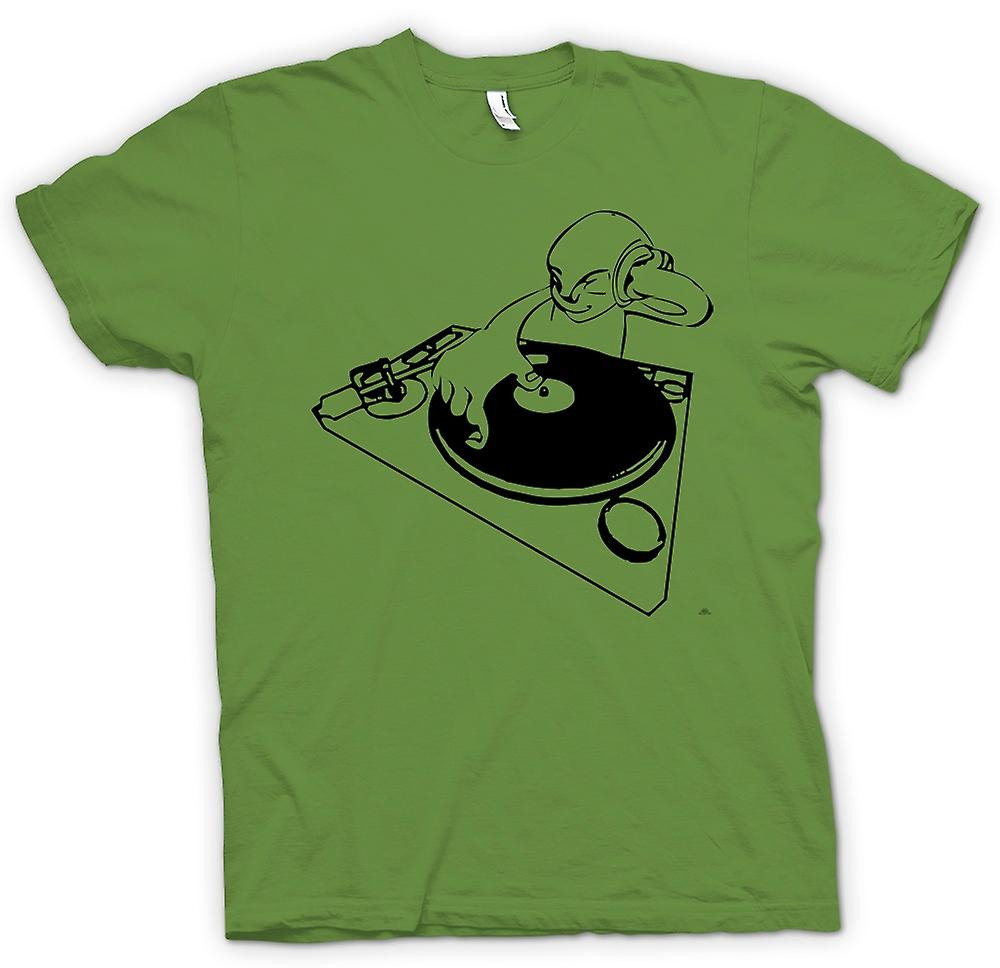 T-shirt des hommes - DJ Spin The Decks