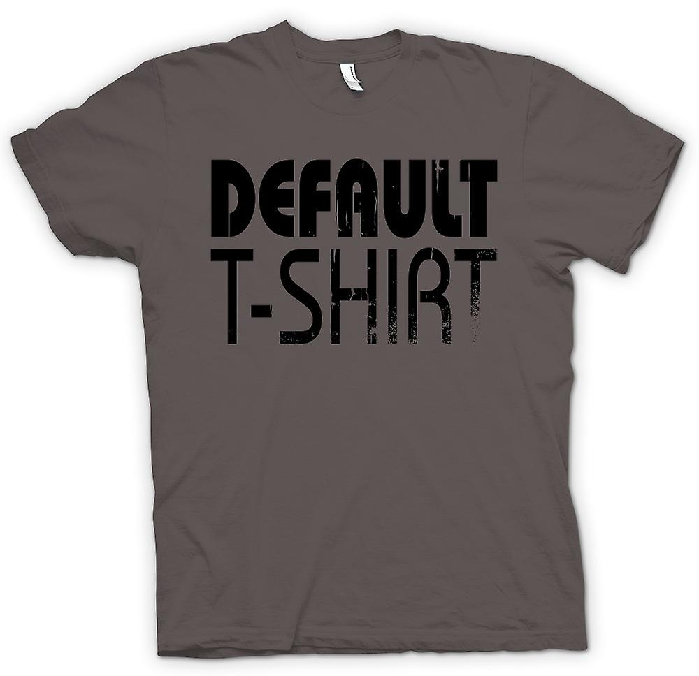 Mens T-shirt - Default T Shirt - Cool Funny