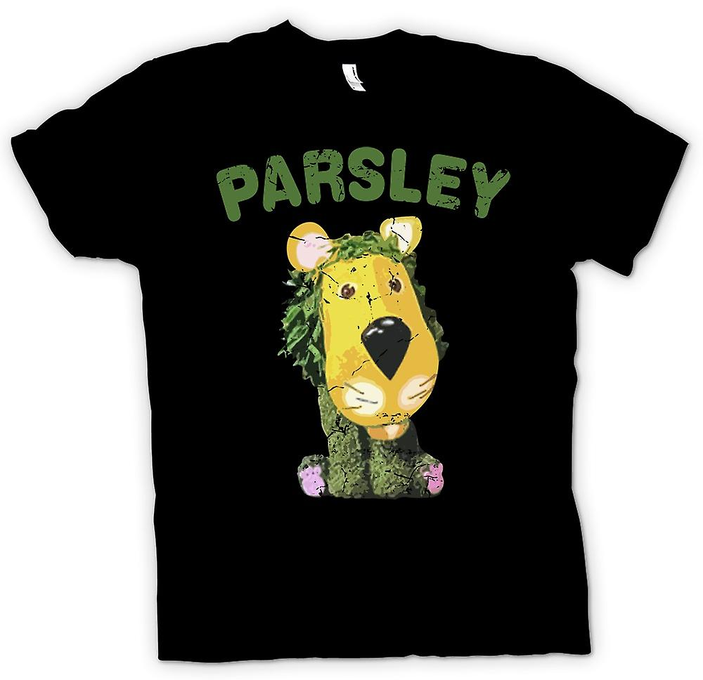 Womens T-shirt - Parsley The Lion - The Herbs