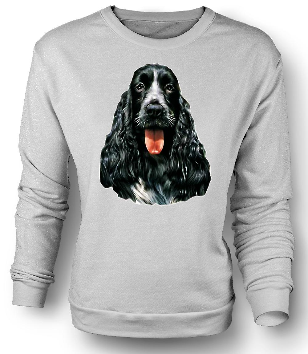 Mens Sweatshirt Cocker Spaniel - Pet - Dog