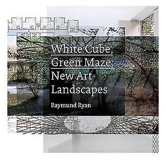White Cube - groene Maze - nieuwe kunst-landschappen door Raymund Ryan - Brian O
