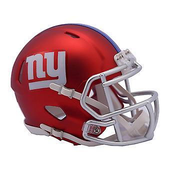 Riddell mini football helmet - NFL BLAZE New York Giants