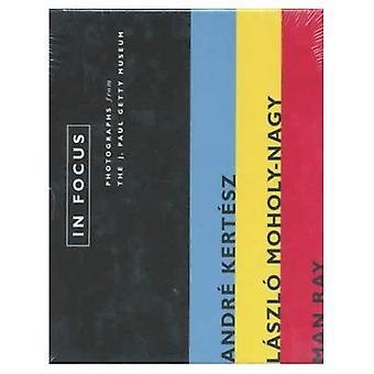 I fokus: André Kertész, Laszlo Moholy-Nagy, Man Ray: fotografier från J.Paul Getty Museum