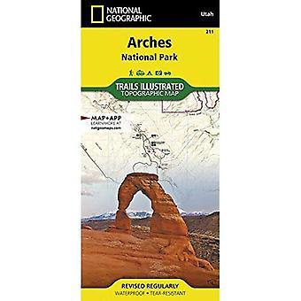 Arches National Park 211 GPS Utah 2005: Ng.NP.211 (Trails Illustrated)