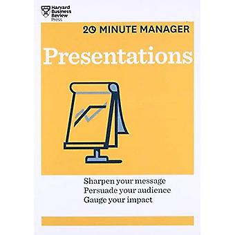 Presentations (HBR 20-Minute Manager Series) (20 Minute Manager)