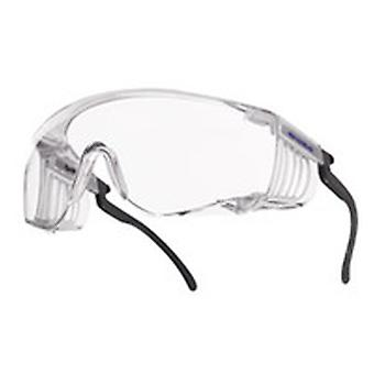 Bolle SQUPSI Squale Coverspecs klart Scratch/tåge linse justerbar templer