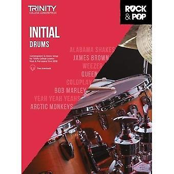 Trinity Rock & Pop 2018 Drums Initial - Trinity Rock & Pop 2018 (Sheet music)