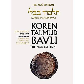 Koren Talmud Bavli, Vol. 28: Bava Batra Part 2, Noe Color, Hebrew/English