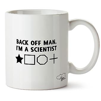 Hippowarehouse backa med mannen, jag är en vetenskapsman 10oz mugg Cup