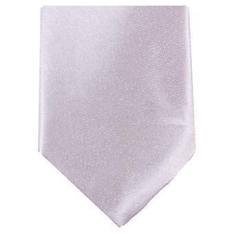 Knightsbridge Neckwear Slim Polyester Tie - Pearl Pink