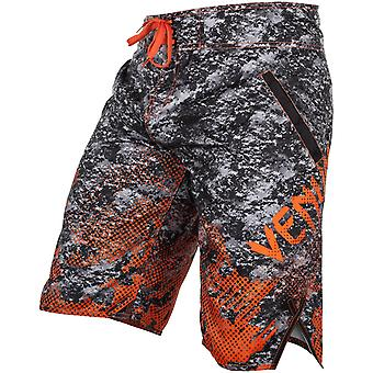 Venum Mens Tramo BoardShorts - Black/Orange