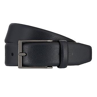 Ceintures pour hommes de Strellson ceintures cuir ceinture en cuir bleu 7941