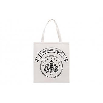 I Just Saved Myself 5p Novelty Tote Bag