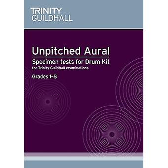 Sample Tests for Unpitched Aural by Trinity Guildhall - 9780857361196