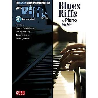 Blues Riffs for Piano by Ed Baker - 9780895249296 Book