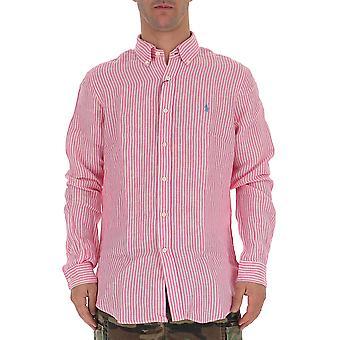 Ralph Lauren Pink Linen Shirt