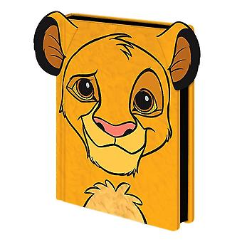 The Lion King Simba Premium Furry A5 Notebook