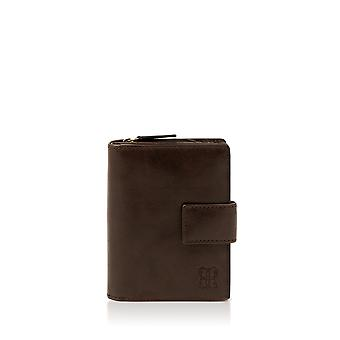 Kentmere 12cm Purse in Chocolate Brown
