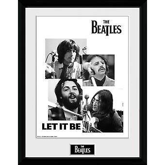 Les Beatles Let It Be Collector encadrée impression 40x30cm