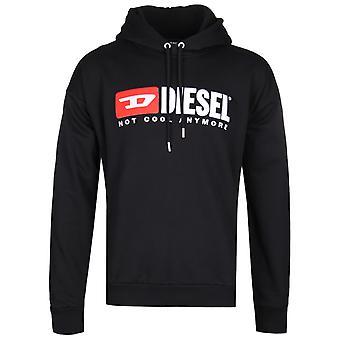 Diesel Division Overhead Black Hoodie