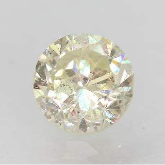 Gecertificeerde 1,18 karaat J VS2 ronde briljante verbeterde natuurlijke losse diamant 6.51 mm