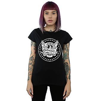 Joey Ramone kvinner ' s Anniversary Crest T-skjorte