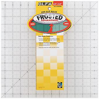 Olfa Frosted Advantage Non Slip Ruler
