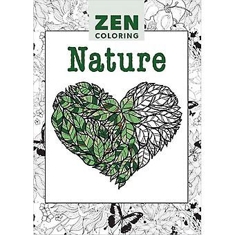Guild Of Master Craftsman Books-Zen Coloring Nature GU-78494