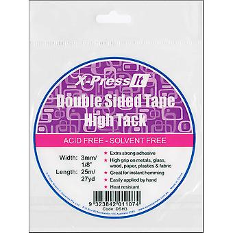 X Press It High Tack Double Sided Tissue Tape 1 8