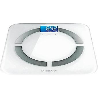 Smart bathroom scales Medisana BS430 connect Weight range=180 kg White