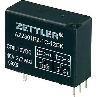 PCB relays 12 Vdc 50 A 1 change-over Zettler Electronics 1 pc(s)