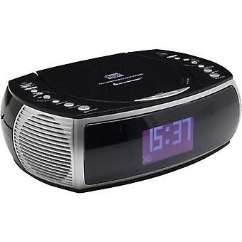 DAB+ Radio alarm clock SoundMaster URD470SW AUX, CD, DAB+, FM, USB Black