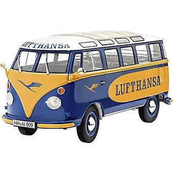 Revell 07436 VW T1 Samba Bus Lufthansa Car model assembly kit 1:24