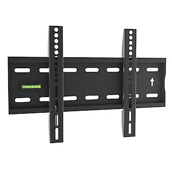 Yousave Accessories Slim Compact Fixed Position TV Wall Mount Bracket for 17 to 37