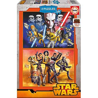 Educa 2x100 Star Wars Puzzles (Toys , Boardgames , Puzzles)