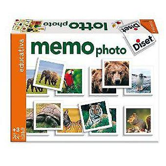 Diset Memory Game: Memo Photo (Toys , Boardgames , Skills)