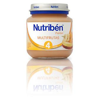 Nutribén Multifruits 130g (Childhood , Healthy diet , Pots)