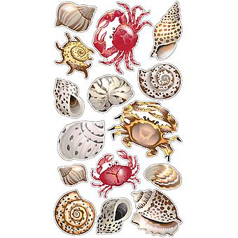 Sticko Stickers-Shells & Crabs SPLS311