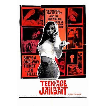 Jailbait Teenage Movie Poster (11 x 17)