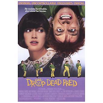 Drop Dead Fred Movie affisch Skriv (27 x 40)