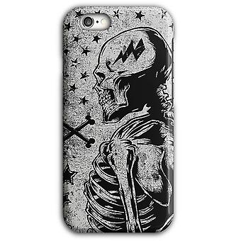 Wasted Youth Twisted skallbenet iPhone Case 5/5S 6/6S 6Plus/6SPlus | Wellcoda