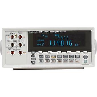 Bench multimeter digital Tektronix DMM4020 Calibrated to: Manufacturer standards CAT II 600 V Display (counts): 20000