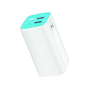 TP-Link Powerbank 10400Mah, 1Micro 2XUSB + USB, with lamp