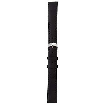 Morellato Strap Only - Sprint Napa Leather Black 18mm A01X2619875019CR18 Watch