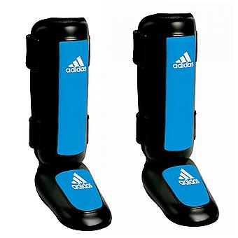 Adidas Pro Style Kickboxing Shin Instep Guards - Black/Blue